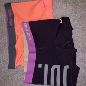 NIke Pros- Set of 2